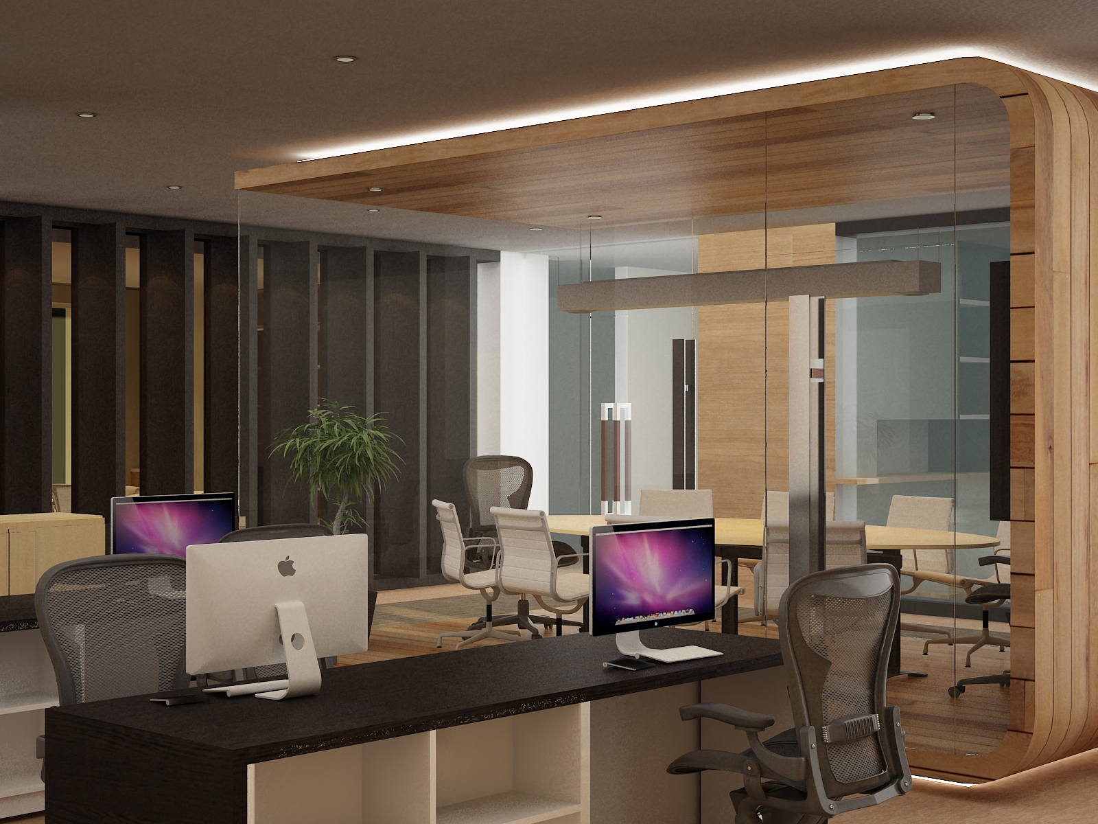 pictures for an office. Utilizing It, We Came Up With An Unusual Zoning, Meeting Room In The Centre Of Office. Work As Focalpoint Whole Space, Pictures For Office